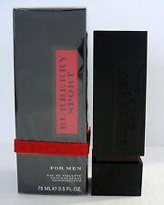 BURBERRY SPORT for Men 2 X 50ml = 100ml EDT Eau De Toilette Spray  NEU Folie