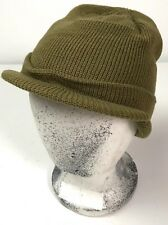WWII US WINTER WOOL M1941 JEEP CAP HAT