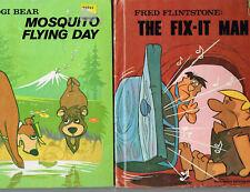4Bks, Fred Flinstone, Yogi Bear. The Muppets Take Manhattan, Art of the Muppets