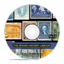 224 Books on Postage Stamp Collecting, Philately Printable Books, Album DVD E81
