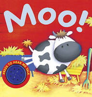 Moo! (Animal Sounds) by , Acceptable Used Book (Board book) Fast & FREE Delivery