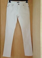 RRP £49 UK 8 REG REDOUTE CREATION WHITE SKINNY LEG JEANS  SELDOM WORN EXCOND