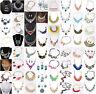 Fashion Chunky Statement Chain Bib Necklace Jewelry Women Pendant Choker