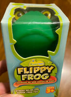 Squishy Eye Popping Flippy Frog - Large Squeeze Stress Relief Toy Latex  Free