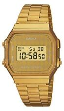 Casio Collection Herrenuhr A168WG-9BWEF Digital Gold