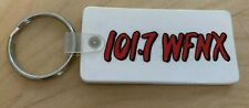 VINTAGE PROMOTIONAL RADIO STATION KEY CHAIN WFNX