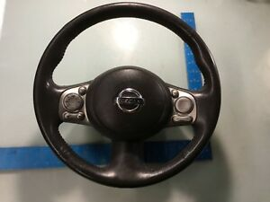 / 09-14 Nissan Cube Steering Wheel With Audio Controls Switch OEM E