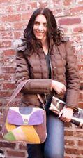 Hemp Purse EARTH DIVAS Multi-color Hand Bag Sturdy Patchwork Satchel