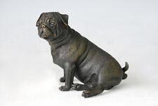 Cute little Bronze Sculpture Male Bull Dog Bulldog BRONZE statue