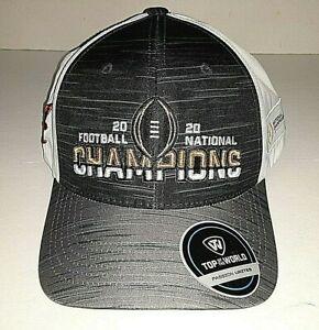 Alabama Crimson Tide TOW 2020 National Champions Adjustable Hat