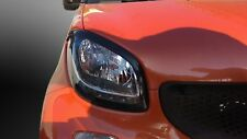 SMART 453 EYEBROWS HEADLIGHT COVER ABS PLASTIC FORTWO FORFOUR