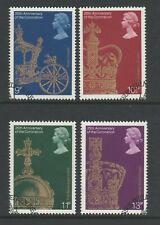 GB 1978 Coronation SG 1059-1062 FU