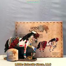 20341 Quarter Horse HOPI SNAKE DANCER #406 Resin Horse of a Different Color Fig.