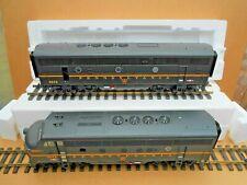 USA TRAINS ~ R22260 ~ PRR GREEN F-3 AB ~ #9677 & #9678 ~ in OB