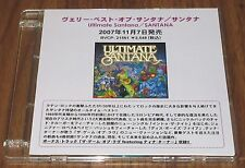 Official SANTANA Japan PROMO ONLY CD acetate ULTIMATE SANTANA more listed RARE