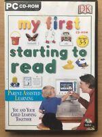 My First D'Inizio Leggere PC Gioco Per Microsoft Windows Per Pre-scuola Bambini