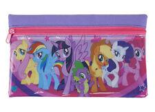 My Little Pony Flat Zipped Pencil Case Kids School Stationery Gift