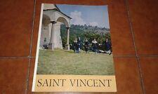 WILLIEN BOSI SAINT VINCENT VALLE D'AOSTA CON 124 FOTOINCISIONI I EDIZIONE 1964