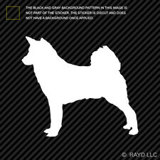 (2x) Canaan Sticker Die Cut Decal Self Adhesive Vinyl dog canine pet