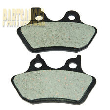 Volar Front /& Rear Brake Pads for 2000-2007 Harley Road King Classic FLHRCi