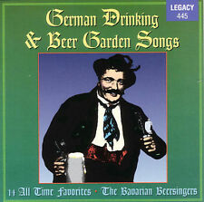 GERMAN DRINKING AND BEER GARDEN SONGS (Music of Germany) CD [B6]