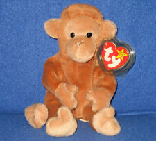 TY BONGO the MONKEY BEANIE BABY - MINT with MINT TAGS