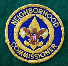 BOY SCOUT ADULT POSITION PATCH - NEIGHBORHOOD COMMISSIONER