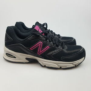 Women's NEW BALANCE '340' Sz 7 US Runners Black Pink Shoes | 3+ Extra 10% Off