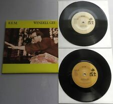 """REM - Wendell Gee UK 1985 I.R.S Double Pack 2 x 7"""" Single Set"""