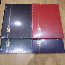 PROMOTION 2 ALBUMS NEUFS : CLASSEURS A4 de 16 PAGES POUR 1000 TIMBRES