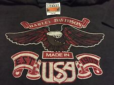 VTG 80s 1983 Rare Harley Davidson T Shirt Men's Large Made In U.S.A. Paper Thin