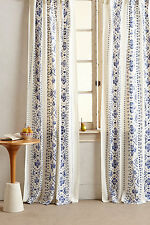 """New Anthropologie Lyndley Curtain Panel 50"""" by 63"""""""
