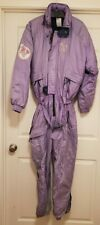 1988 Vintage Ultimo Ski Suit Womens XS Purple Lillehammer Olympics Rare