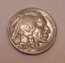 Buffalo Nickel 1936S AU