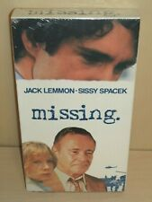Missing (VHS, 2000)  - New & Sealed!