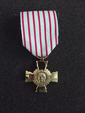 ^ a3-073 Med ORD Croix TU combattant 14-18/39-45/afn France Orden combat Croix