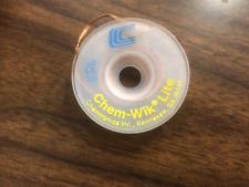 5x Copper Desoldering Braid Soldering Remover Solder Wick 3.0mm//5Ft. 5Pcs