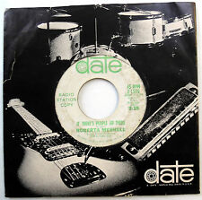 ROBERTA MESHELL 45 If There's People Up There PROMO Teen NOVELTY Popcorn w4777