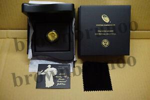 2016 W Standing Liberty Centennial Gold Coin 1/4 oz .9999 Gold Quarter 25¢ 16XC