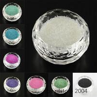 50g 3D Nial Art Microbeads Translucence Mini Glass Bead Tiny Caviar 0.6~0.8mm