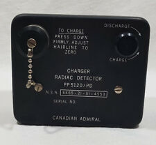 Canadian Admiral Charger Radiac Detector PP5120/PD Military Issue NEW