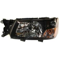 For Forester 03-04, Driver Side Headlight, Clear Lens