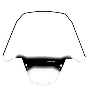 Can-Am New OEM ATV Extra High Windshield For Deluxe Fairing 715000936