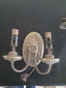 Bronze Antique Two Arm Sconce