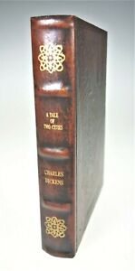 Charles Dickens Tale Two Cities Faux Book Box Scroll Hide Jewelry Stash Storage