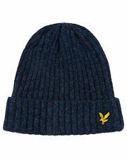 Lyle & Scott Dark Navy / Lapis Blue Beanie Hat - HE905A-Z705