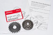 85 ATC250ES ATC250SX TRX250 OEM HONDA STARTER REDUCTION GEAR C 43T & 27T SET HA0