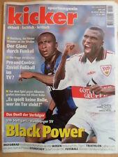 KICKER 82- 6.10. 1997 Stuttgart-HSV 5:2 Bielefeld-Dortmund 3:1 KSC-Wolfsburg 2:1