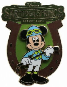 2007 Disney WDW Saratoga Springs Resort&Spa Mickey Mouse Pin N9