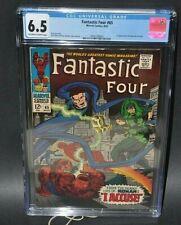 Marvel Comics Fantastic Four #65 Aug.1967 CGC 6.5 First Ronan the Accuser Key